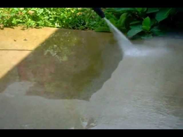 how to clean mold from concrete www