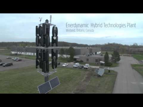 The EnerPole - a EHT Wind Resources Vertical Axis Wind Turbine