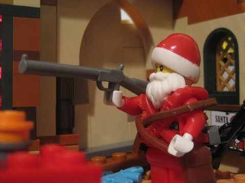 The Night Santa Went Crazy IN LEGO (Weird Al Yankovic)