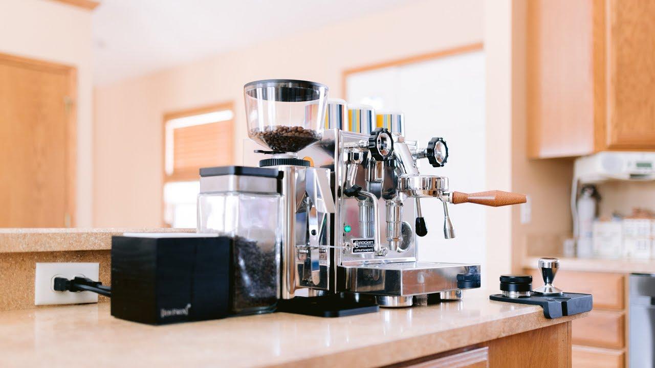 The Ultimate Home Espresso Bar Setup Rocket Appartamento Youtube