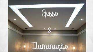 Gesso e Iluminação | C de Casa Por Tati Maniero