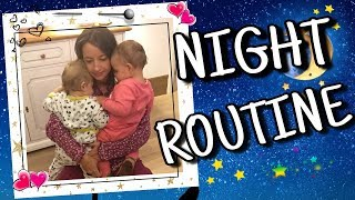💖💛💙🌔 Night routine coi miei gemelli 🌖💙💛💖