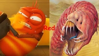 Larva As Monsters | Larva in REAL LIFE | Angry Birds In Real Life