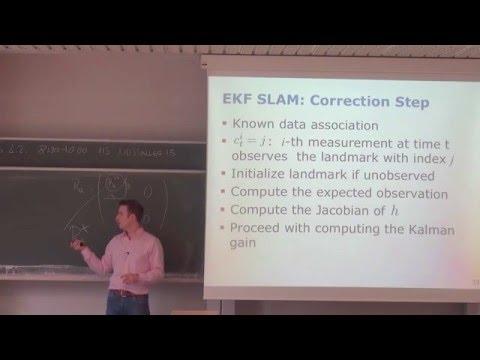 Photogrammetry II - 13 - EKF SLAM (2015/16)