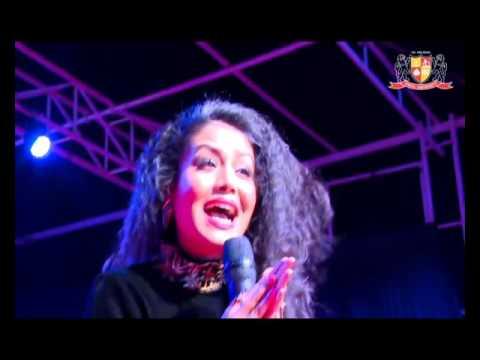 Neha Kakkar Live  - Jeena Jeena Song Badlapur  | Parul University