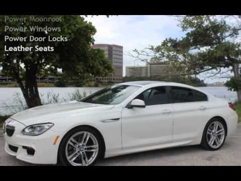 2013 bmw 640i gran coupe for sale in miami fl youtube. Black Bedroom Furniture Sets. Home Design Ideas