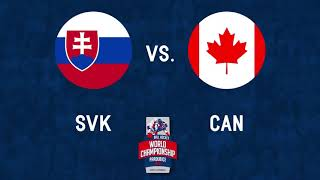 Slovakia vs Canada 2017 GOLD MEDAL GAME World Ball Hockey Championships Pardubice, Czech Republic