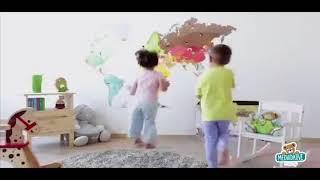 Dekorace do dětského pokoje Dressing Magneti' Stic