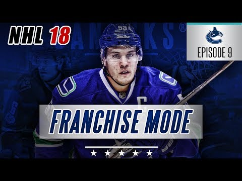 "NHL 18 Franchise Mode | Vancouver Canucks #9 ""Lottery Luck!?"""