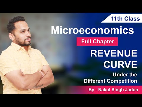 Class 11th || Revenue Curve Under Different Competition || Full Chapter By NSJ