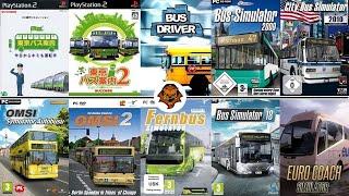 History Of Bus Simulator Games /Historia De Los Juegos De Simulación De Autobuses 1999-2018