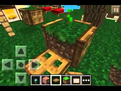 Minecraft Pe Furniture Ideas Youtube