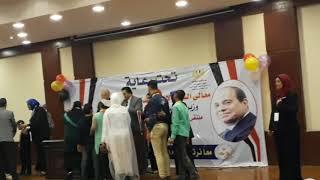 لحظات الفوز.....الإسكندرية  المركز الثانى ملتقى الموهوبين والتربية الخاصة شرم الشيخ 12-4-2018