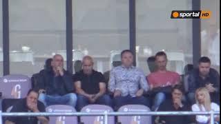 """Славиша Стоянович гледа мача на """"Георги Аспарухов"""""""