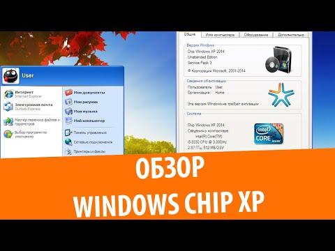 Обзор сборки Windows XP Chip 2014
