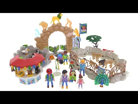 Playmobil 6634 Large City Zoo review!