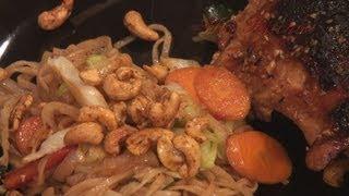 58. Sesame Ginger Garlic Chicken, Phad-mein, Strawberry Shortcake Whoopie Pies