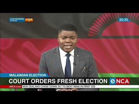 Malawian President plans to appeal court ruling on election