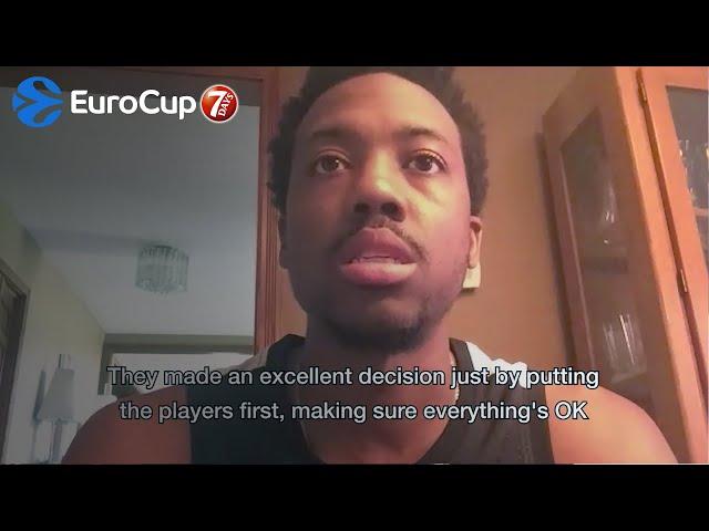 Players Reactions: Errick McCollum, UNICS Kazan