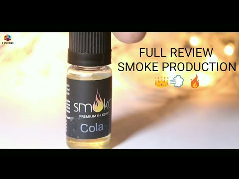 SMOKA COLA FLAVOUR E-LIQUIDS REVIEW SMOKE PRODUCTION IVAPE.IN