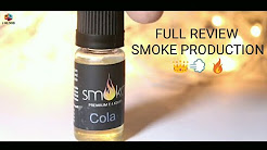 SMOKA COLA FLAVOUR E-LIQUIDS REVIEW SMOKE PRODUCTION IVAPE.IN