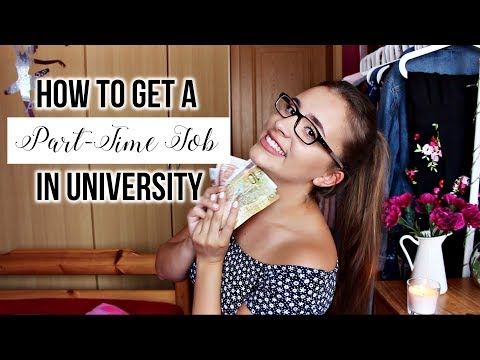 Working Part-Time During University ADVICE 💸🤓 (Job Search, Application & Interview Tips)