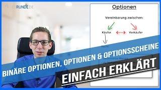 Unterschiede von binären Optionen, Optionen & Optionsscheinen - einfach erklärt