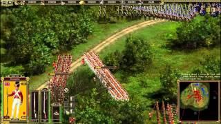 Cossacks 2 Battle for Europe: online battle Waterloo. L.L. (Britain) vs _67665 (France)(#14)