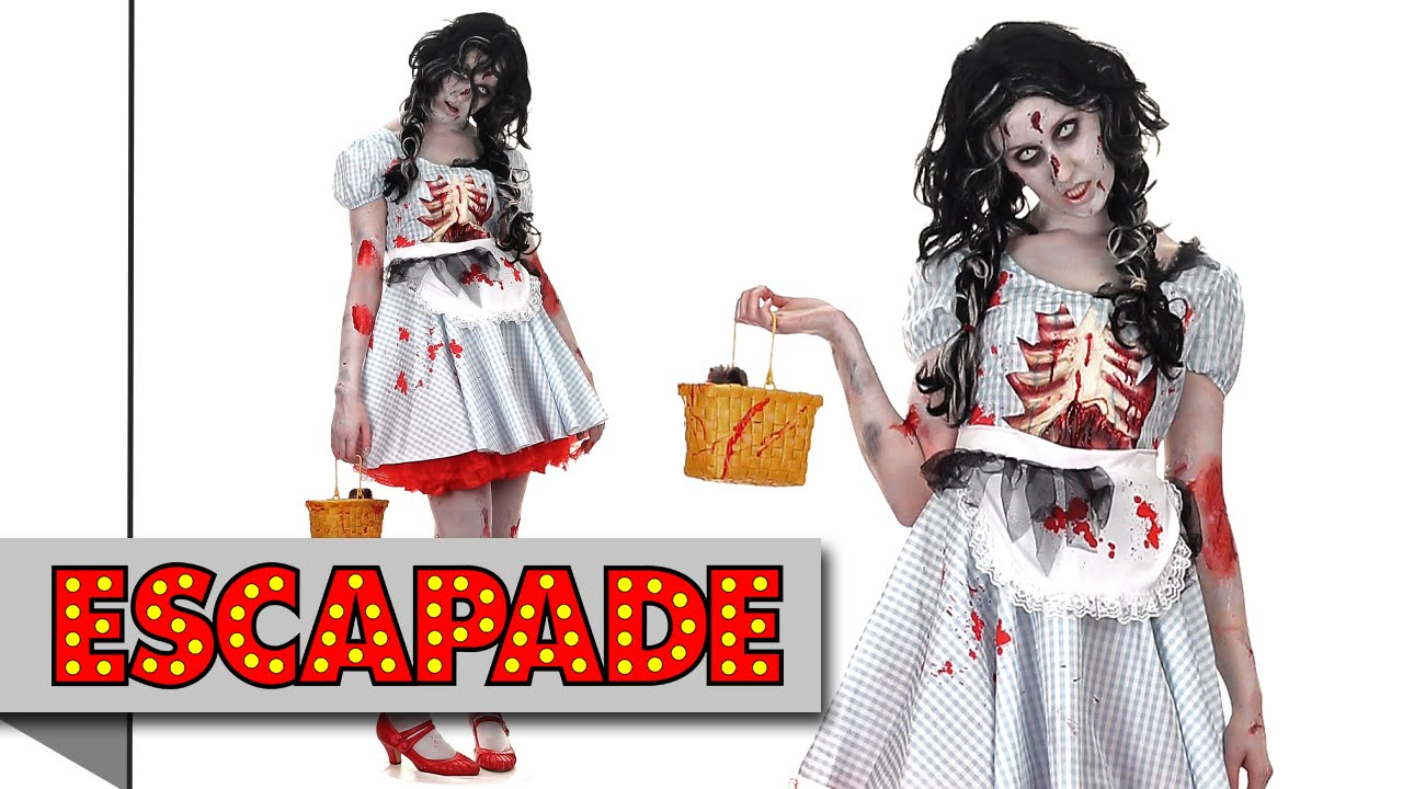 zombie dorothy halloween costume - halloween fancy dress costume