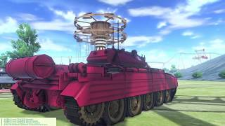 Girls und Panzer Dream Tank Match DX | Rosehip Insanity Battle Part 2