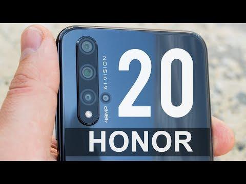 Honor 20 - берет дизайном и камерами! Обзор смартфона Хонор 20
