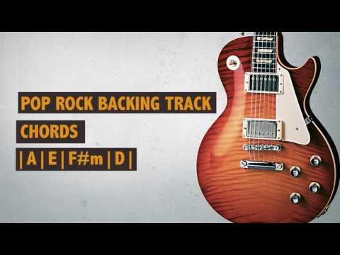 Backing Track | Pop Rock | A Major