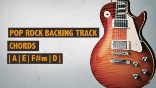 Backing Track | Pop Rock | A Major