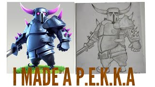 I MADE A P.E.K.K.A| COC | CLASH OF CLANS | SUPERCELL| HARDCORE GAMER HIMANSHU