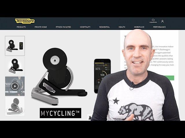 TechnoGym MyCycling Smart Trainer: Unboxing, Build, Ride Details