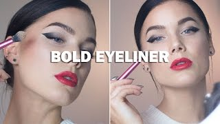 Bold Eyeliner (with subs) - Linda Hallberg Makeup Tutorials Thumbnail