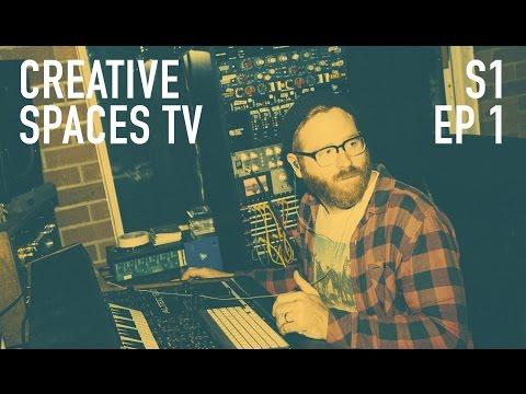 Brandon Owens - Audio Engineer, Producer, Musician | EP.1 Creative Spaces TV