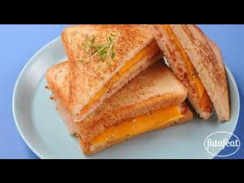 طريقة تحضير ساندوتش الجبن المشوي