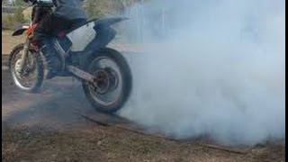 BEST DIRT BIKE BURNOUT ON YOUTUBE