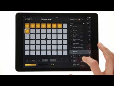 Novation  Launchpad for iPad   Import Tutorial Overview