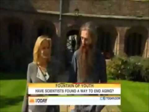 Today Show's Fountain of Youth Interview with Dr  Bill Andrews