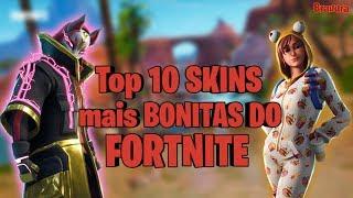 TOP 10 most BEAUTIFUL SKINS of FORTNITE! -2019