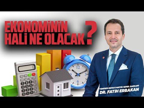 EKONOMİNİN HALİ NE OLACAK? | Dr. Fatih Erbakan | Yeniden Refah Partisi Genel Başkanı