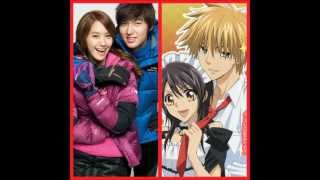 Lee Min Ho and Im Yoona for Kaichou Wa Maid Sama Korean Drama Version