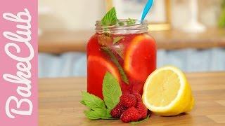 Himbeer-Zitronen-Limonade   BakeClub