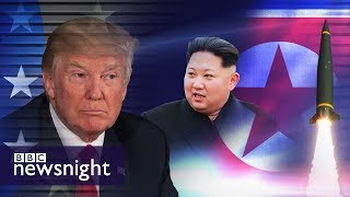 How likely is military action between the US and North Korea? - BBC Newsnight