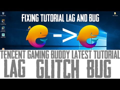 Tencent Gaming Buddy Pubg Mobile Bug / Lag / Glitch Fix 101% Fast #Aio