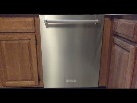 kitchenaid dishwasher model kdte334gps - Kitchen Aid Dishwashers