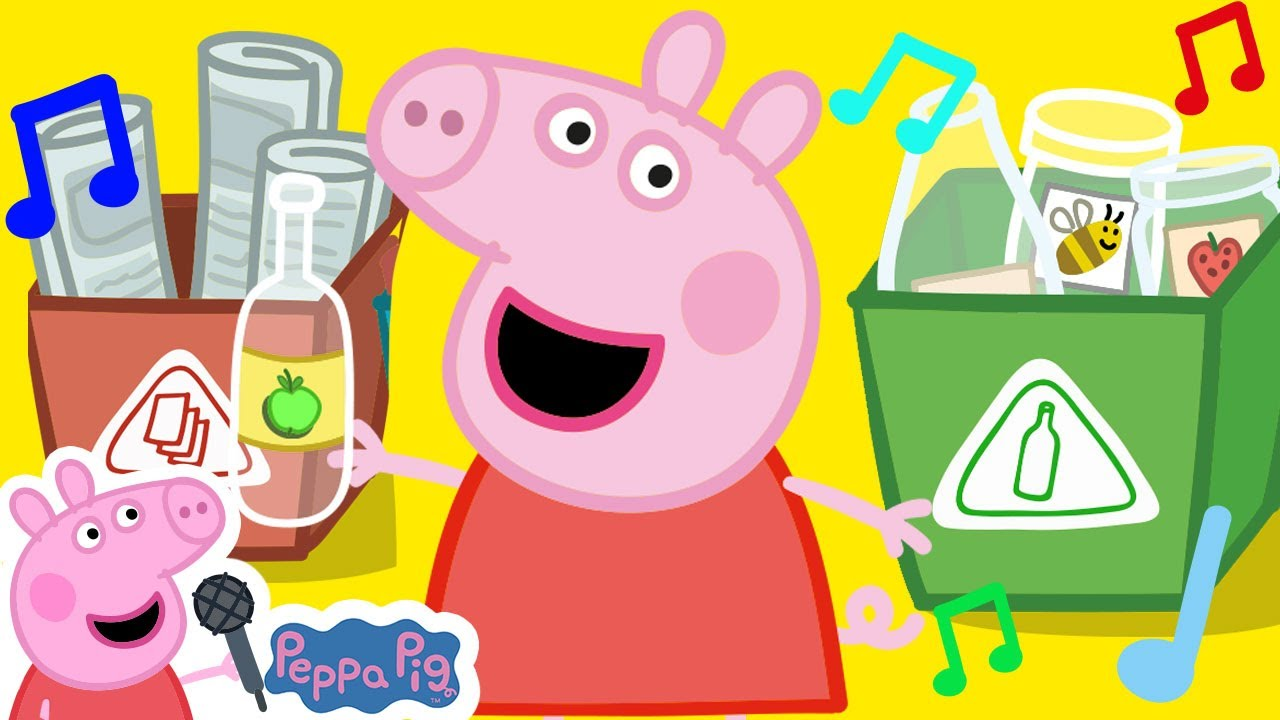 Peppa Pig Official Channel | Peppa Pig Earth Day Song - Recycling Song for Kids