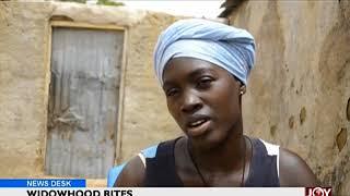 Widowhood Rites - News Desk on Joy News (22-6-18)